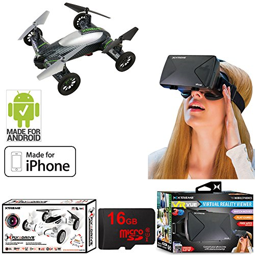 Top 10 Best Drones with Virtual Reality (VR) Headsets - 2019